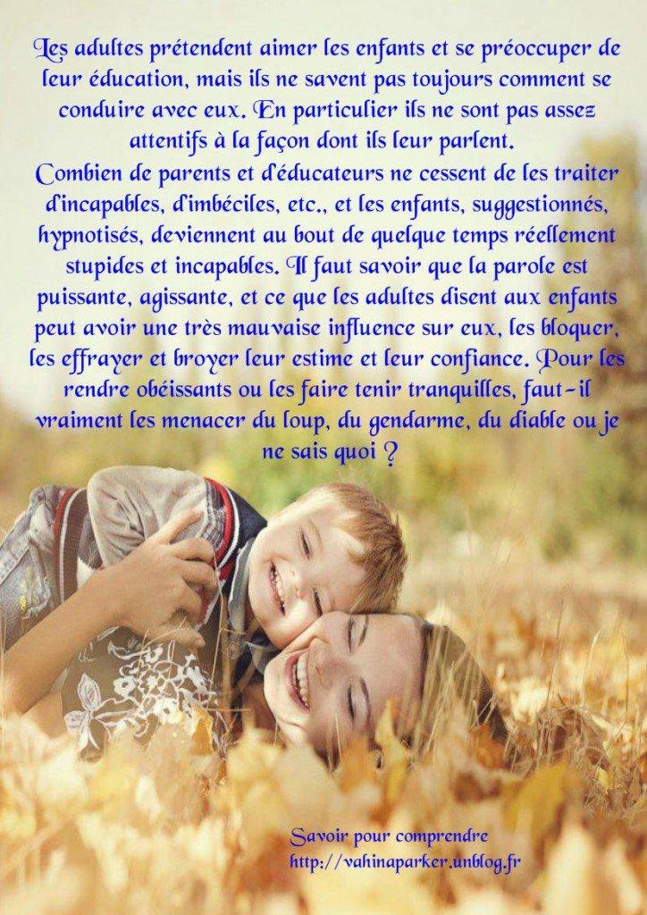 aimer les enfants