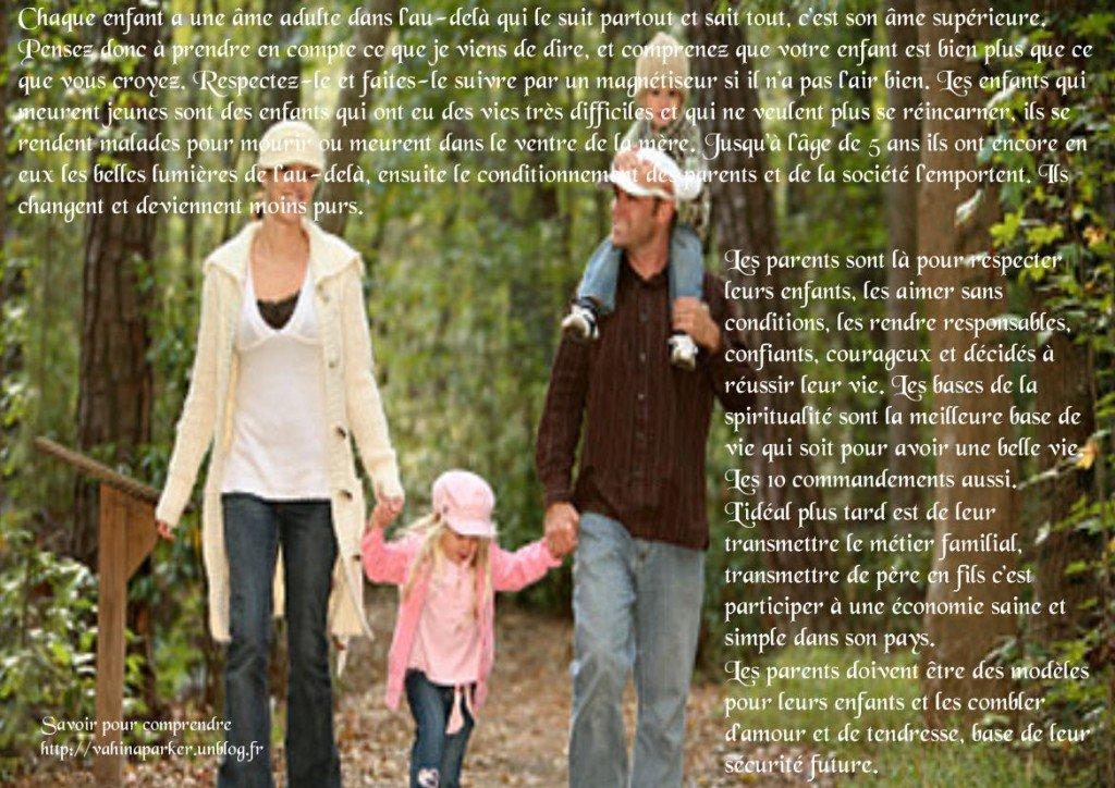 les parents devraient aimer tout ses enfants