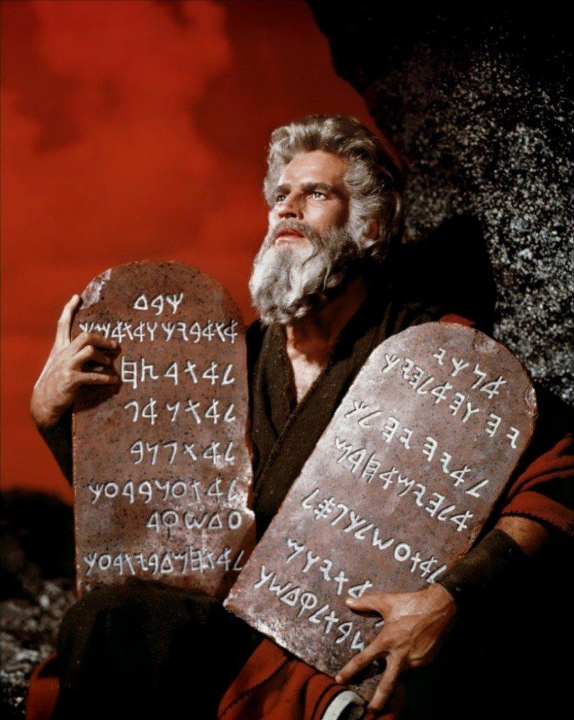 Les 10 commandements du prophète Moïse dans MA CONVERSATION AVEC LE PROPHETE MOISE ET LES 10 COMMANDEMENTS ***** Les_10_commandements8-817x1024